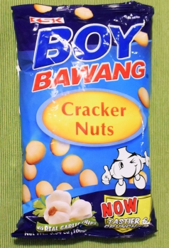 BOY BAWANG Cracker Nuts, garlic flavor