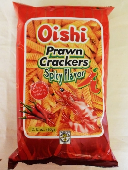 Oishi - Prawn Crackers - spicy