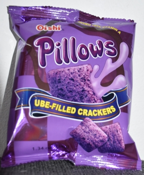 Crackers UBE filled Pillows